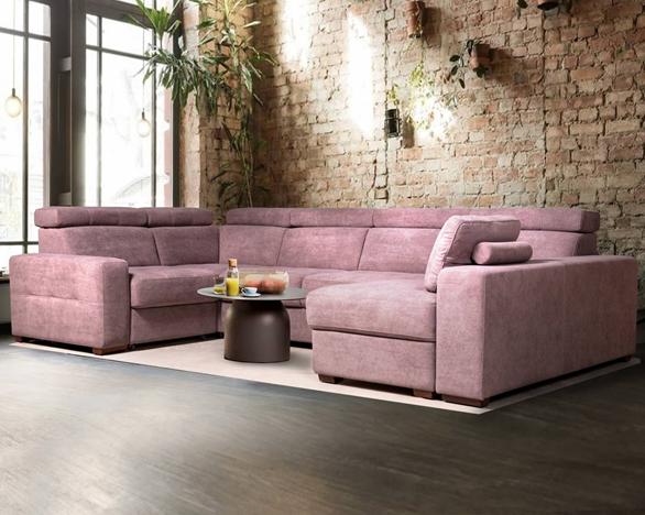 Karat Lux Modular Corner Sofa Bed